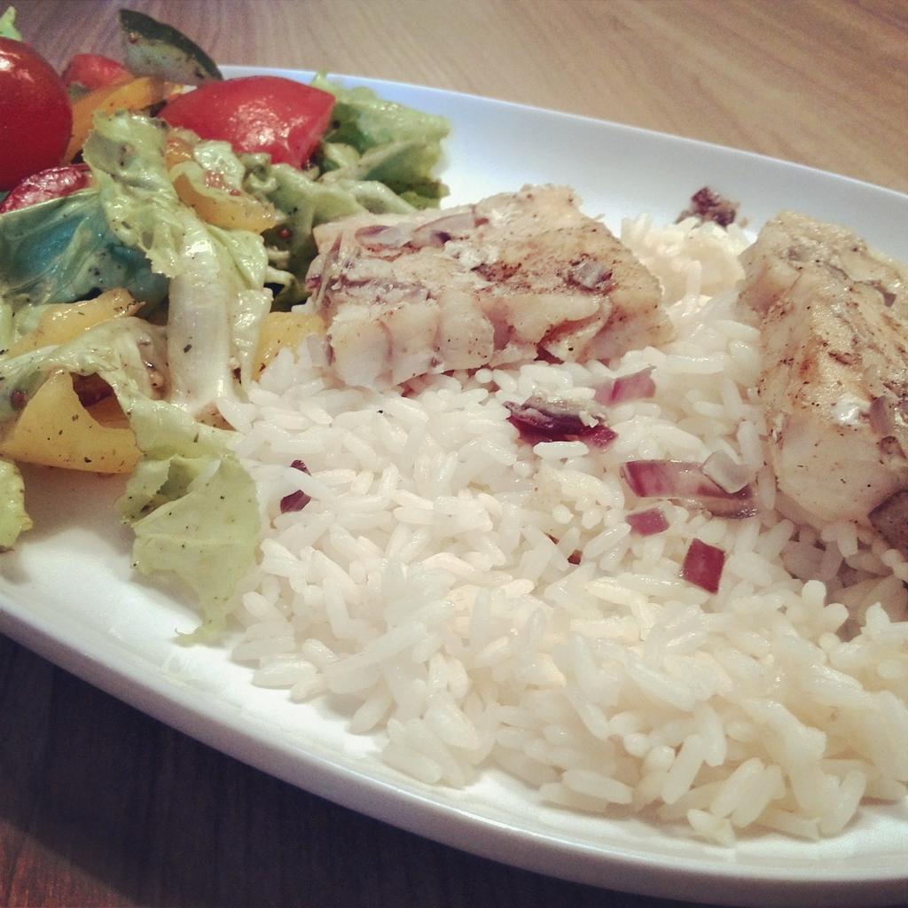 Ryba z ryżem i nie jest to sushi!