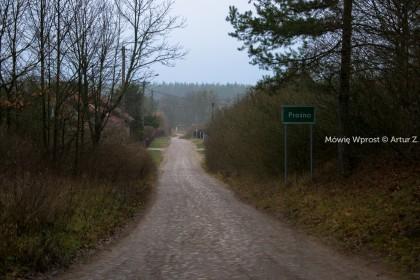 Prośno, piękna leśna osada