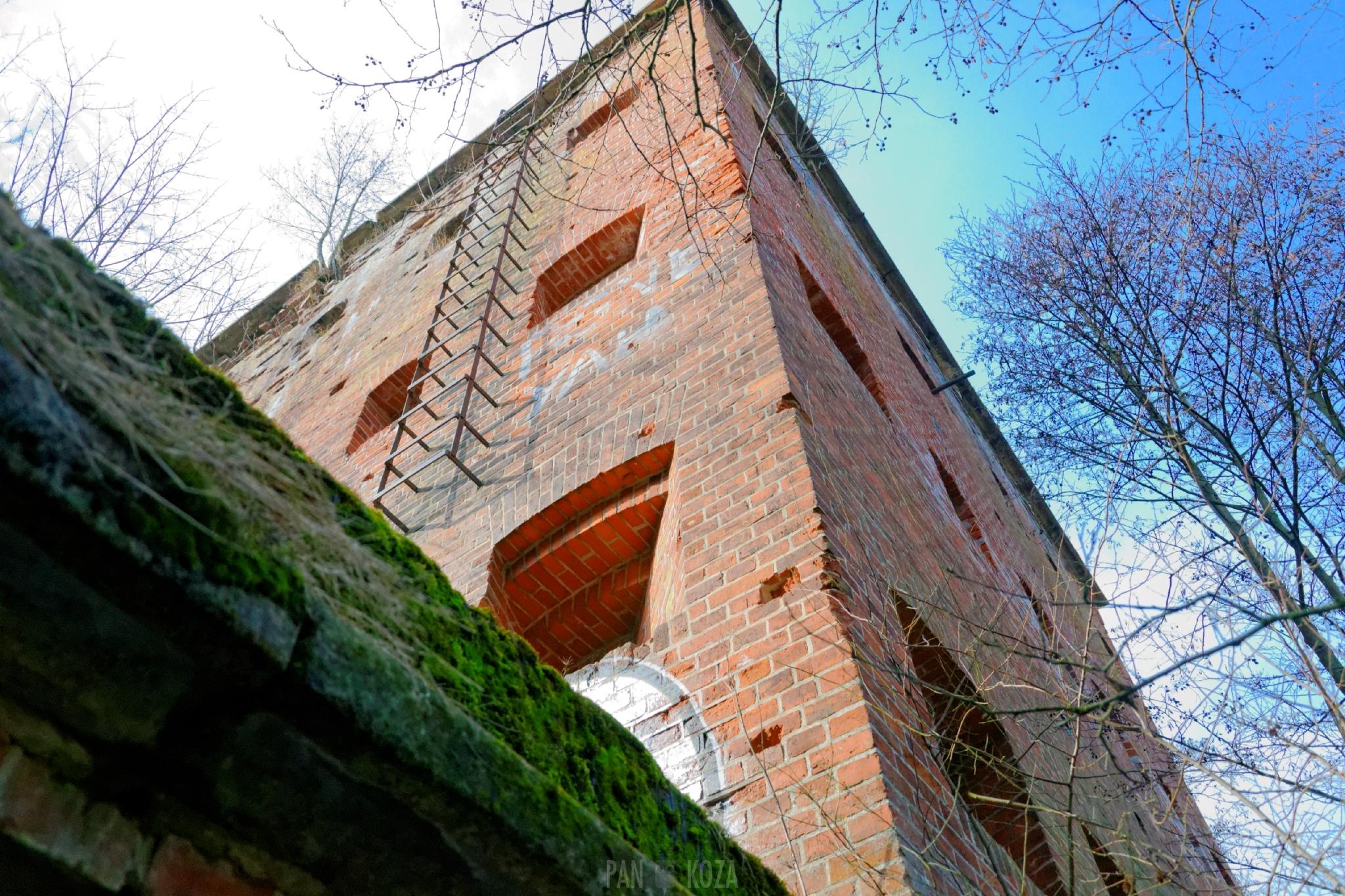 Wieże obronne - bunkry - Tomaryny