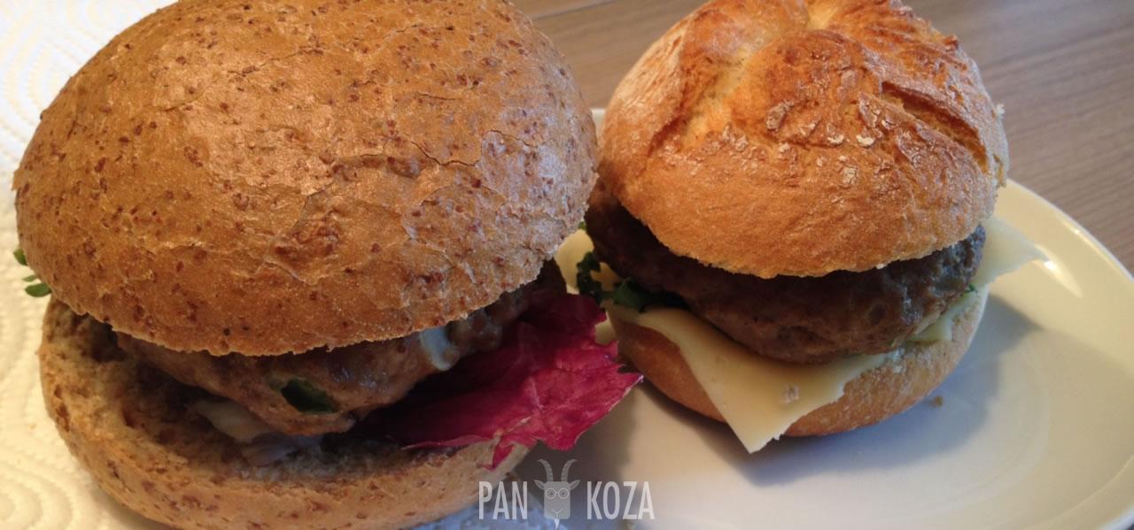Poloburger aka buła z mielonym
